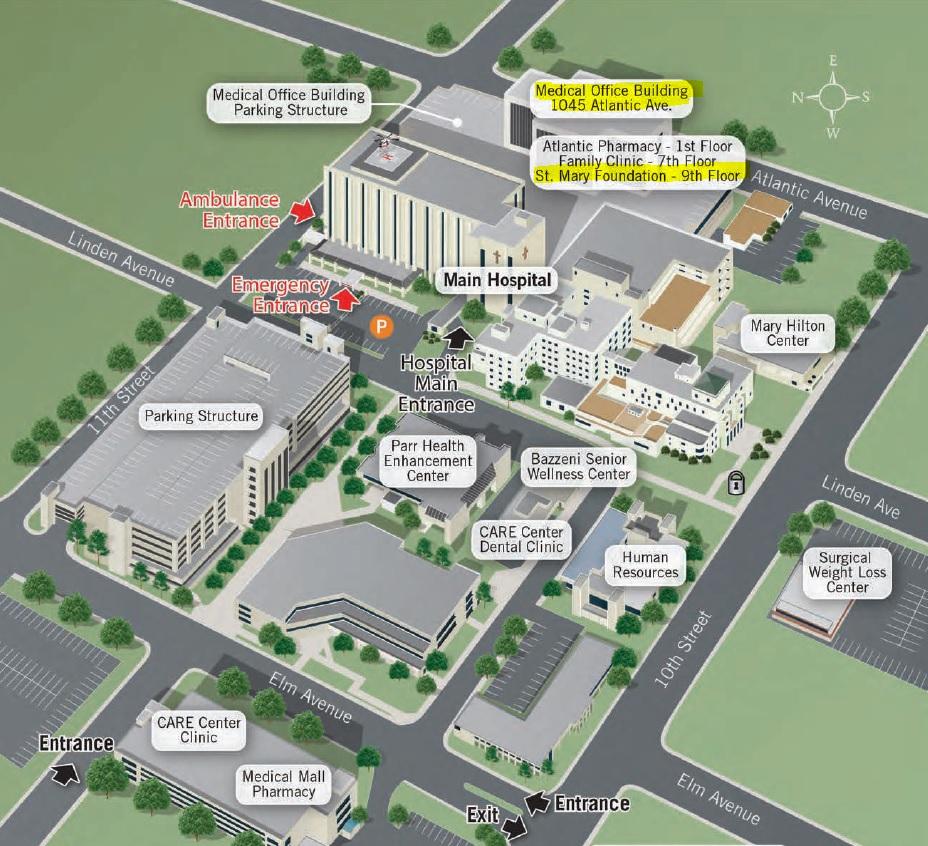 2019 Campus Map