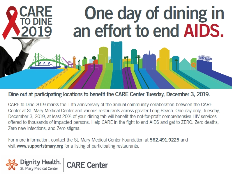 CARE to Dine Post Card