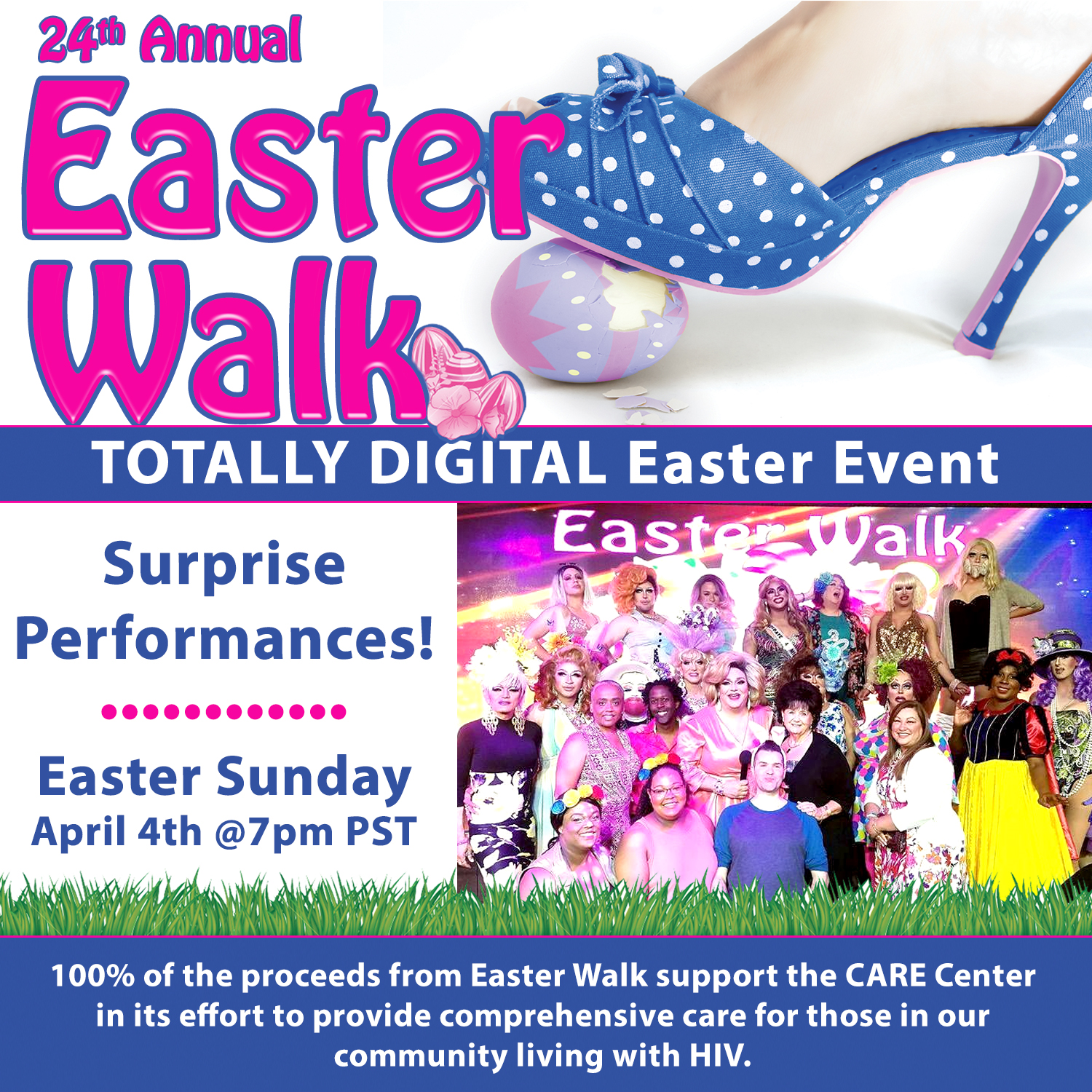 2021 Easter Walk Flyer